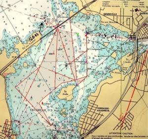Carte du Lac Vaudreuil